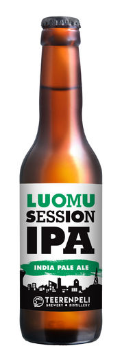 Luomu Session IPA, 4,5%, 16 x 0,33l